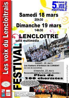 affiche du festival de la voix en Haut-Poitou