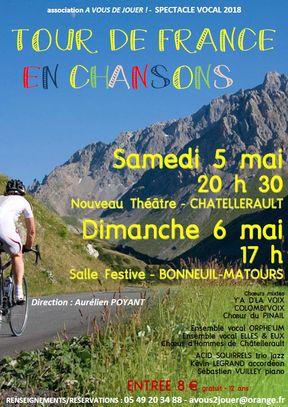 visuel tour de France en chansons