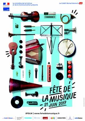 affiche fête de la musique