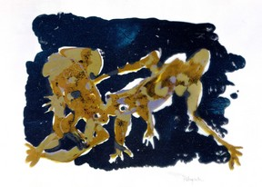 Grenouille I, 1966 lithographie