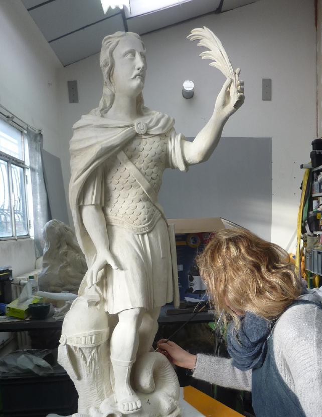 Statue de St Georges